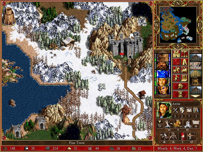 Heroes of Might and Magic 3, sl 9