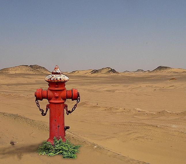 """Nevjerojatna iračka """"pješčana rijeka"""" više je nego li se na prvi pogled čini"""
