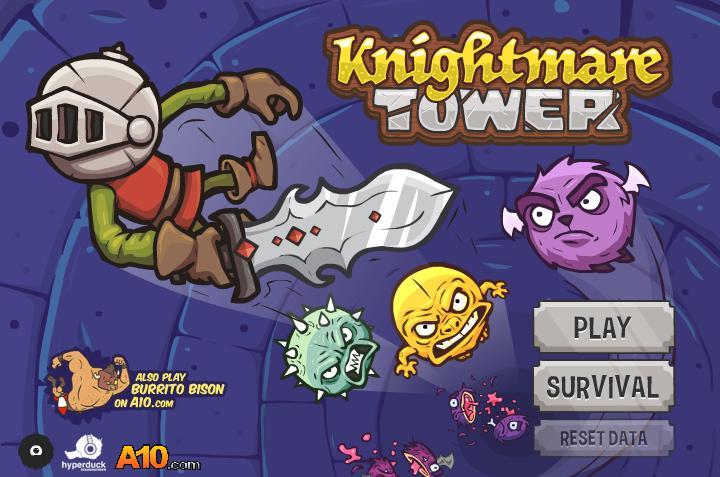 Retro recenzija: Knightmare Tower, zarazna flash igra i dragulj organske progresije gameplaya